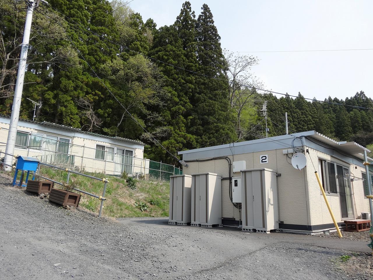 赤浜第2仮設団地(赤浜2丁目西側)