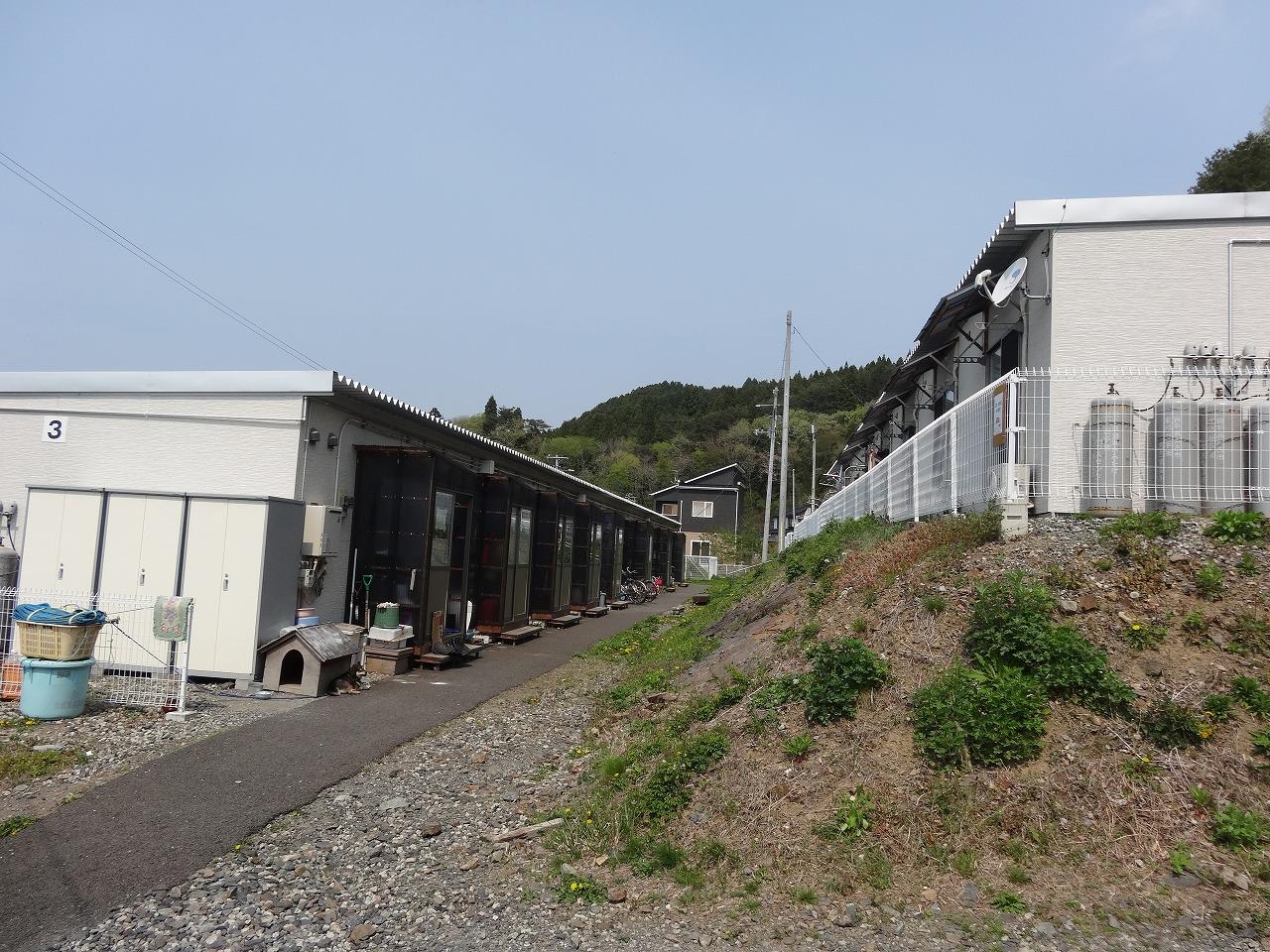 赤浜第4仮設団地(惣川)