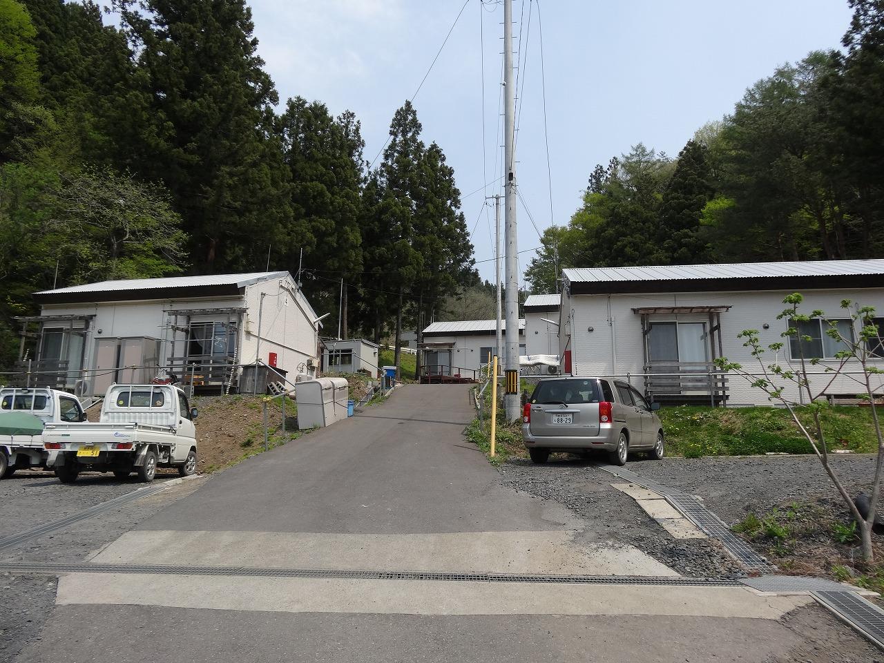 安渡仮設団地(大徳院)