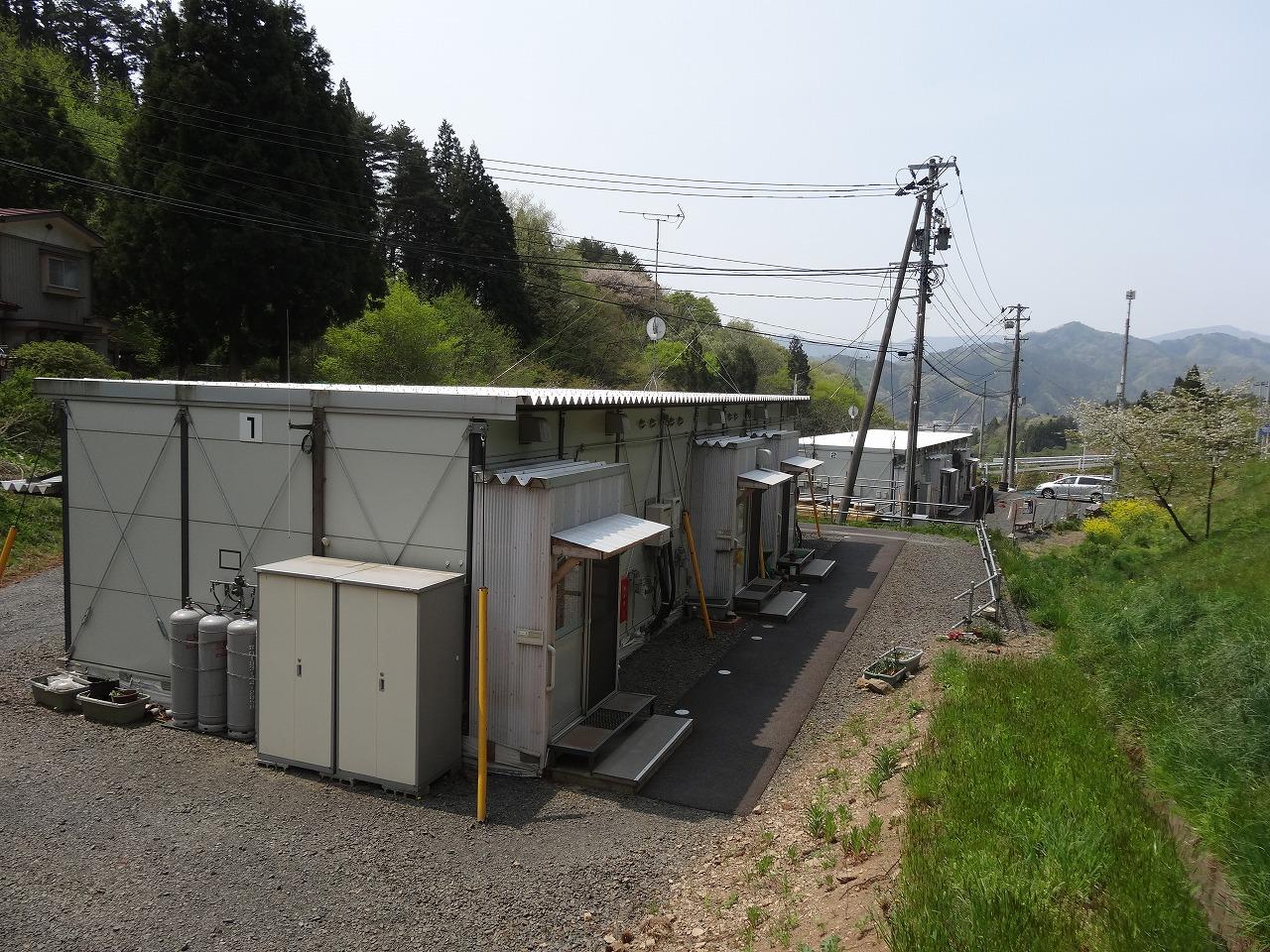 大槌第11仮設団地(きりきりトンネル前)